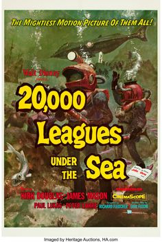 20,000 Leagues Under the Sea (Buena Vista, 1954).