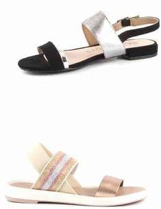 Sandale Damă cu Talpă Joasă | Low-heeled sandals for women - alizera Heeled Sandals, Slip On, Casual, Shopping, Shoes, Women, Fashion, Sandals, High Sandals