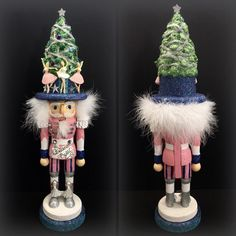 "HOLLY ADLER Hollywood Nutcracker Ballet 18"" Kurt Holiday Collectible Pink Blue #KurtAdler"