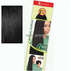 "Sat Feb 27, 2016 - #9: X-Pression Braid Senegalese Twist Large 24""LG - Color 1 - Synthetic Braiding"