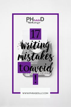 Common writing mistakes to avoid that can affect your website, social media and writing in general. Video lessons and tips to help you avoid common writing mistakes. #writingmistakes #commonwritingmistakes #writingmistakestoavoid Creating A Portfolio, Creating A Blog, Business Writing, Business Tips, Run On Sentences, Work On Yourself, Finding Yourself, Nouns And Verbs, Professional Writing