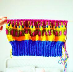 Mil Smith beanie knitting half way through Friendship Bracelets, Knits, Beanie, Photo And Video, Knitting, Inspiration, Instagram, Biblical Inspiration, Tricot