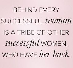 Tribe of Successful Women Empowerment Quotes