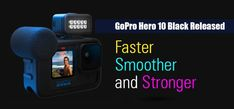 New released GoPro Hero 10 Black with many upgraded technologies. If you are looking for an action camera with a high quality, read on to find out more