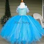 Frozen Elsa Custom Couture Sequin Tutu Dress