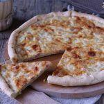 Torta salata ricotta e prosciutto Deep Dish, Ricotta, Pizza, Cheese, Food, Recipies, Essen, Meals, Yemek