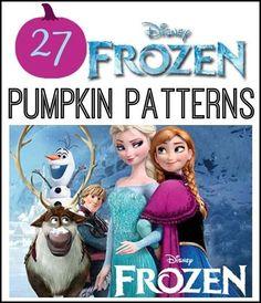 Frozen Pumpkin Patterns: Frozen Pumpkin Patterns