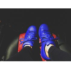 04ec127d69a blue adidas shell toe as seen on Kylie Jenner never wore outside like new  adidas shell toe