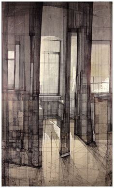 Megan McGlynn architectural drawing, pen and ink www.meganmcglynn.com