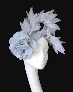 Gray Fascinator - i like the silhouette of this one