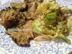 """Funghi """"Pleurotus"""" gratinati al forno"""