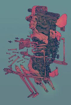 Drawings by artist Erik Svetoft
