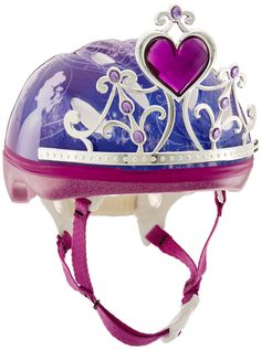 Amazon.com : Bell Children 3D Tiara Princess Bike Helmet, Pink : Toys & Games