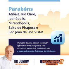 O Estado de São Paulo está em festa! #FichaLimpa #77000 #DrGondim #votedrgondim77000 #Social