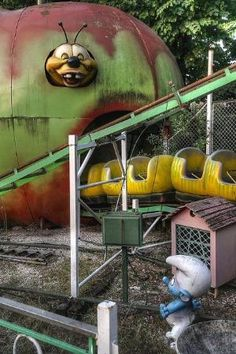 abandoned amusement park by melanie