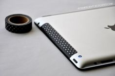 20 Ways to Decorate Your Tech with Removable Washi Tape