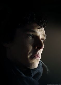 This is strangely hypnotic. (Another Sherlock blinking .gif)