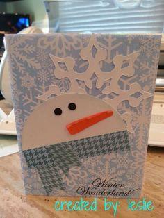 CTMH & Cricut Christmas card