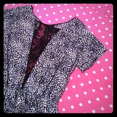"Urban Outfitters leopard and lace dress This is such a fun and sexy going out dress! I always got tons of compliments - and it has pockets! I wouldn't recommend for those with larger chests because it looks best without a bra. Gorgeous lace panels in the front and back. Slight wear in back lace shown. Tag says ""Johann for Urban."" About 33"" long from the high point of shoulder, bust laying flat about 16.5"" Urban Outfitters Dresses Mini"