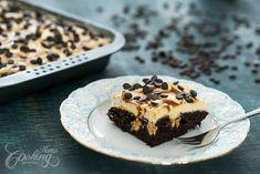 Chocolate Caramel Poke Cake :: Home Cooking Adventure