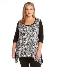 Plus Size Kate Print Tunic