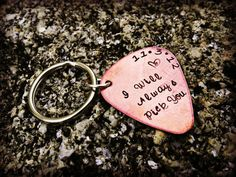I will always pick you Guitar Pick Hand by CharmletteDesigns, $16.00