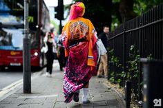 British girl wearing Astrid Andersen