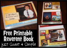 Printable Reverent Book