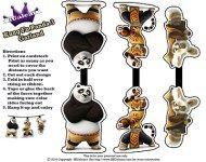 Kung Fu Panda 3 Free Party Printables