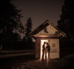 #sparkler engagement session shot. The sparklers were inside the barn shack and the beautiful couple stood in position for 30 seconds to get this shot!  #sparklers #barn #engagementphotos      SHOOTING WORKSHOP MASTERS   Photos by www.mattkennedy.ca  http://www.mattkennedy.ca