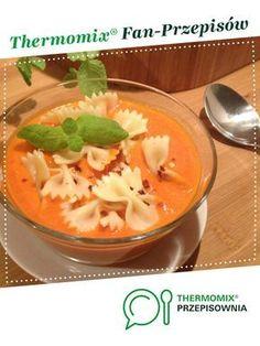 Zupa krem z pomidorów i papryki jest to przepis stworzony przez użytkownika Iwona Garncarz. Ten przepis na Thermomix® znajdziesz w kategorii Zupy na www.przepisownia.pl, społeczności Thermomix®. Kale, Thai Red Curry, Creme, Food And Drink, Pudding, Ethnic Recipes, Kitchen, Desserts, Thumbnail Image