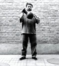 """""""A small act is worth a million thoughts."""" — Ai Weiwei  #aiweiwei #gif"""