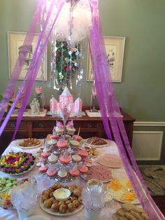 Princess high tea party