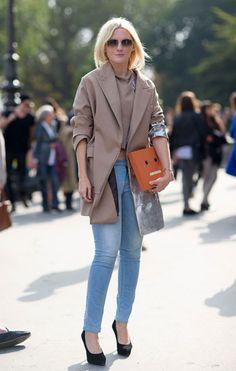 Paris Street Style Spring 2014 Laura Brown