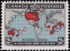 "The Canadian ""Xmas"" map stamp of 1898"