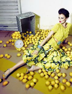 Citrus fruits are fresh but would remind me f a toilet cleaner if used for a fabric conditioner