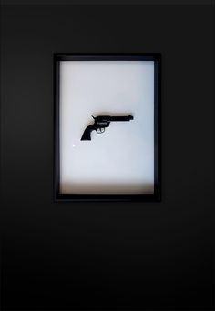 Revolver Black, Installation Art in progress Size: 50 cm x 70 cm (x 8 cm) Certified and signed Art Series, Revolver, Installation Art, Contemporary, Interior Design, Artwork, Black, Kunst, Nest Design