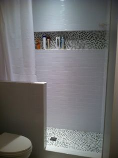 shower remodel idea