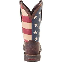 American Flag Boots - Rebel by Durango Men's Flag Western Boots #DB5554 - Durango Boot Company