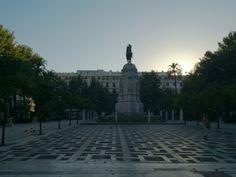 La hermosa plaza nueva