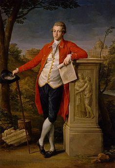 Portrait of Francis Basset, by Pompeo Batoni, 1778. Madrid, Prado