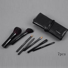 MAC 7Pcs Brush Set With Black Pouch Online