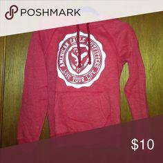 Red American eagle sweatshirt Red American eagle sweatshirt American Eagle Outfitters Tops Sweatshirts & Hoodies