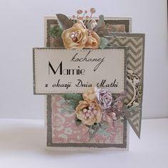 Arts&Crafts keep me sane.: Na dzień matki znów Shabby, Arts And Crafts, Diy Crafts, Vintage Fashion, Vintage Style, Decorative Boxes, Scrapbooking, Place Card Holders, My Love