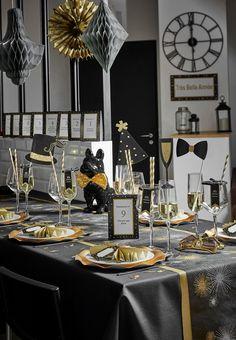 silvesterparty ideen f r einen feierlichen rutsch ins neue jahr new year 39 s eve pinterest. Black Bedroom Furniture Sets. Home Design Ideas