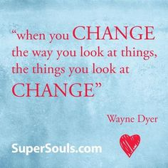 Change The Way You Look At Things | Smile at things, they will smile back right at you. :) #QOTD #quote #quotation