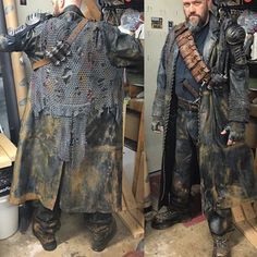 Post Apocalyptic Clothing, Post Apocalyptic Costume, Post Apocalyptic Art, Post Apocalyptic Fashion, Apocalypse Armor, Apocalypse Costume, Apocalypse Fashion, Larp, Mad Max Costume