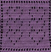Ravelry: Stacked Hearts Square pattern by Amelia Beebe