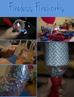 Fun, flame-free, kid-friendly ideas to celebrate the Fourth.