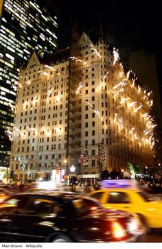 The Plaza Hotel, located in magical uptown Manhattan (on the renowned Fifth Avenue and overlooking Central Park) is the definition of New York elite